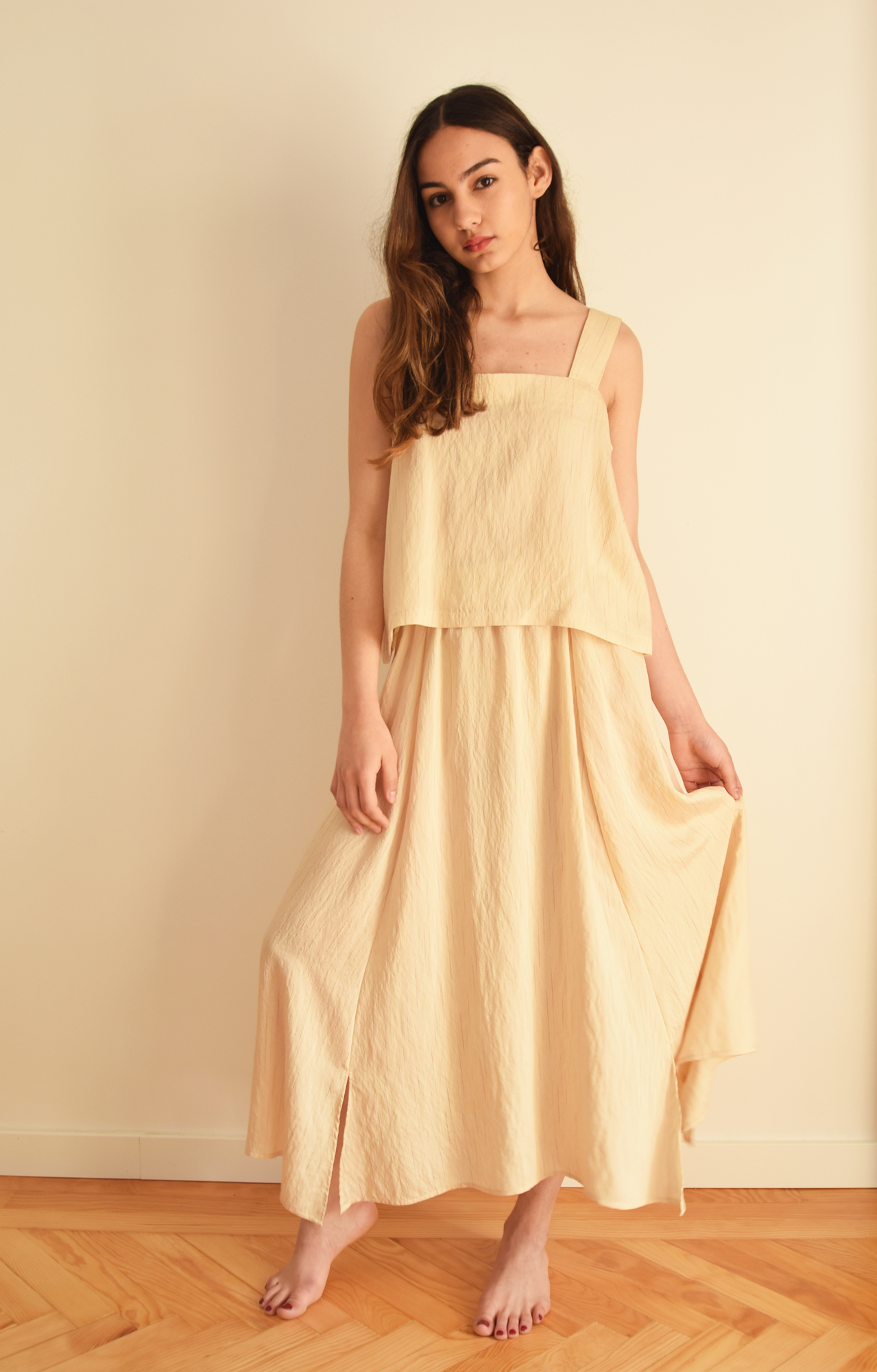 Falda Lover beige