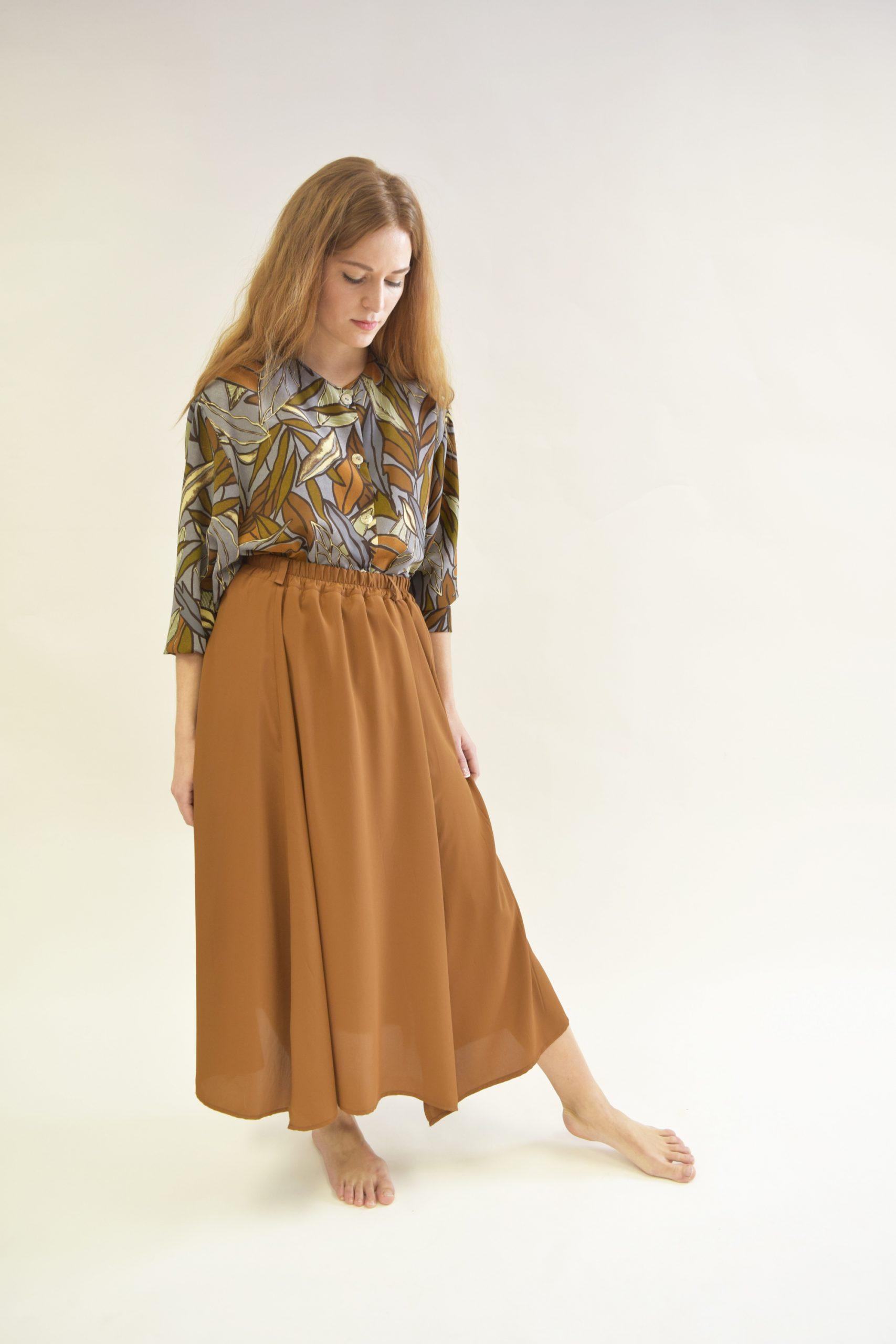 Falda Lover marrón