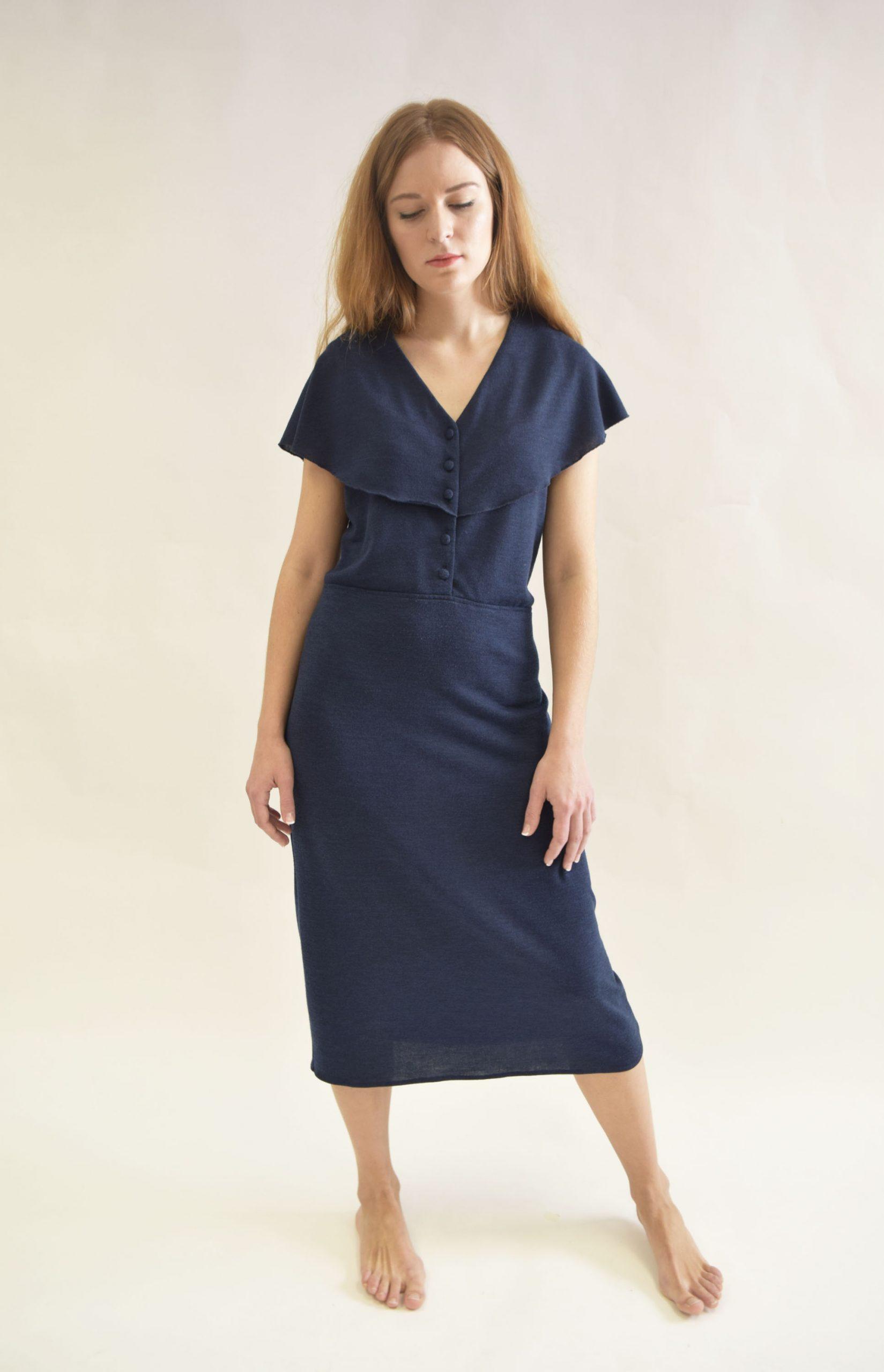 Vestido Hierro Azul original