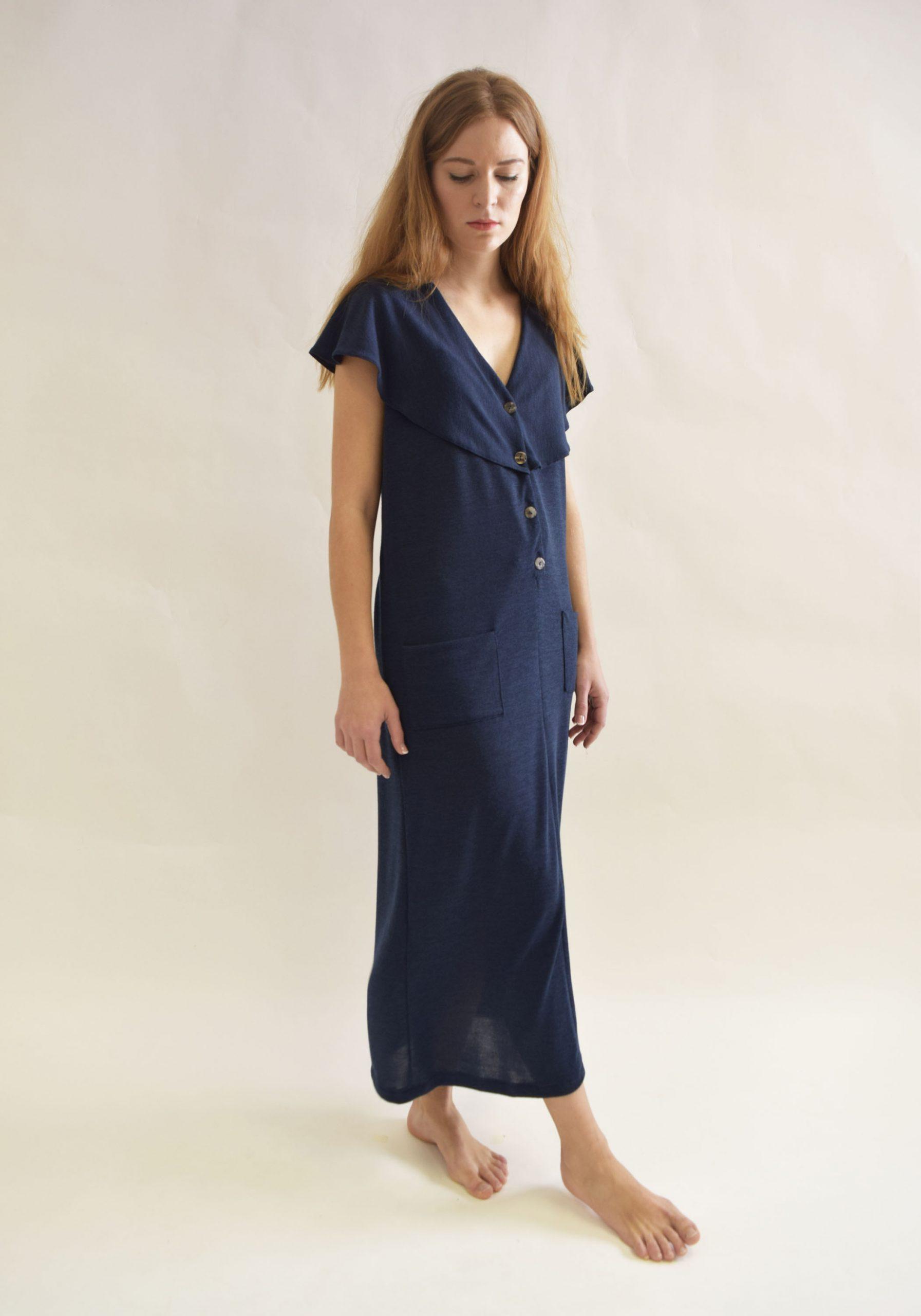 Vestido Hierro Azul