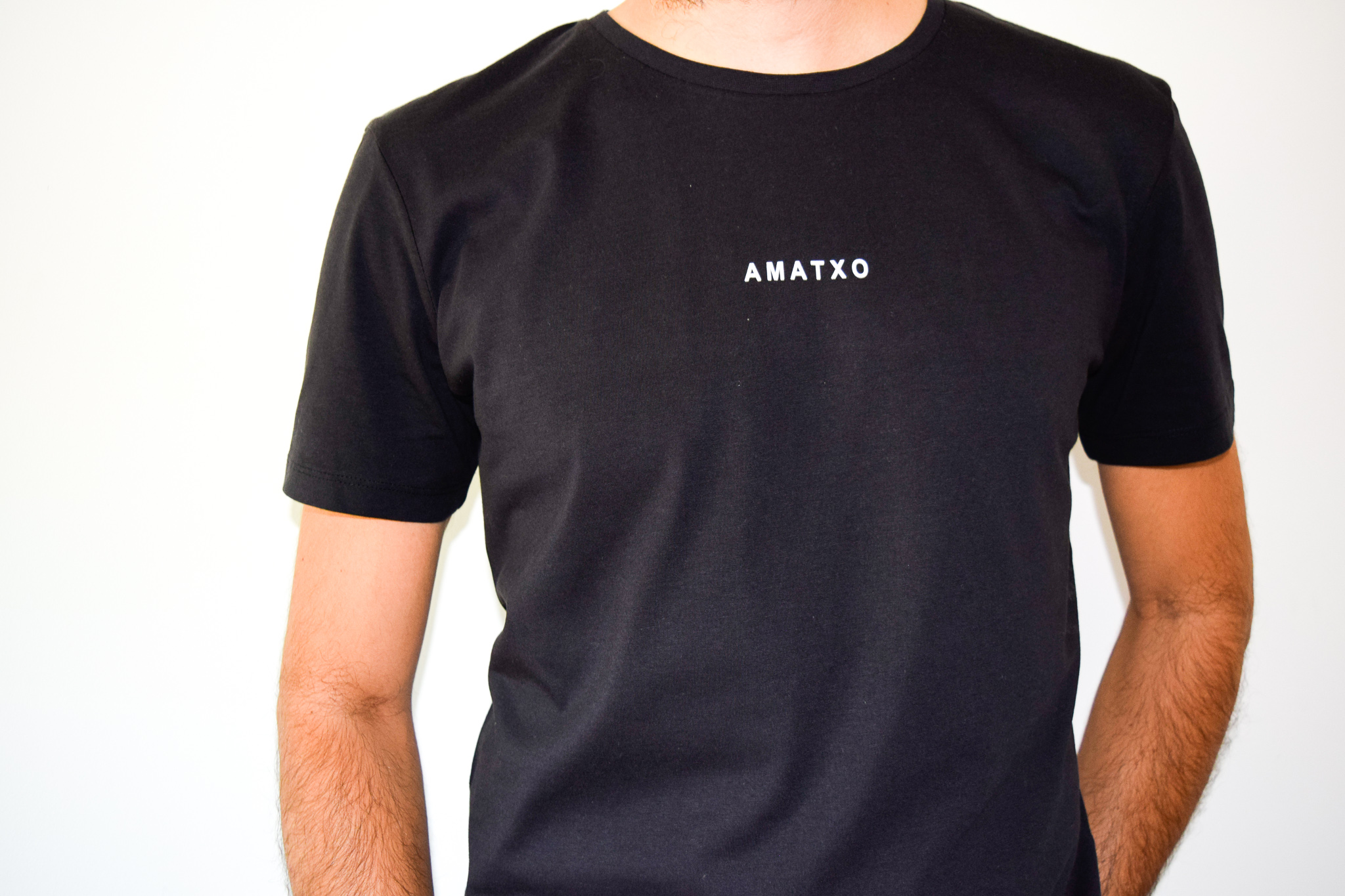 camiseta amatxo negro chico