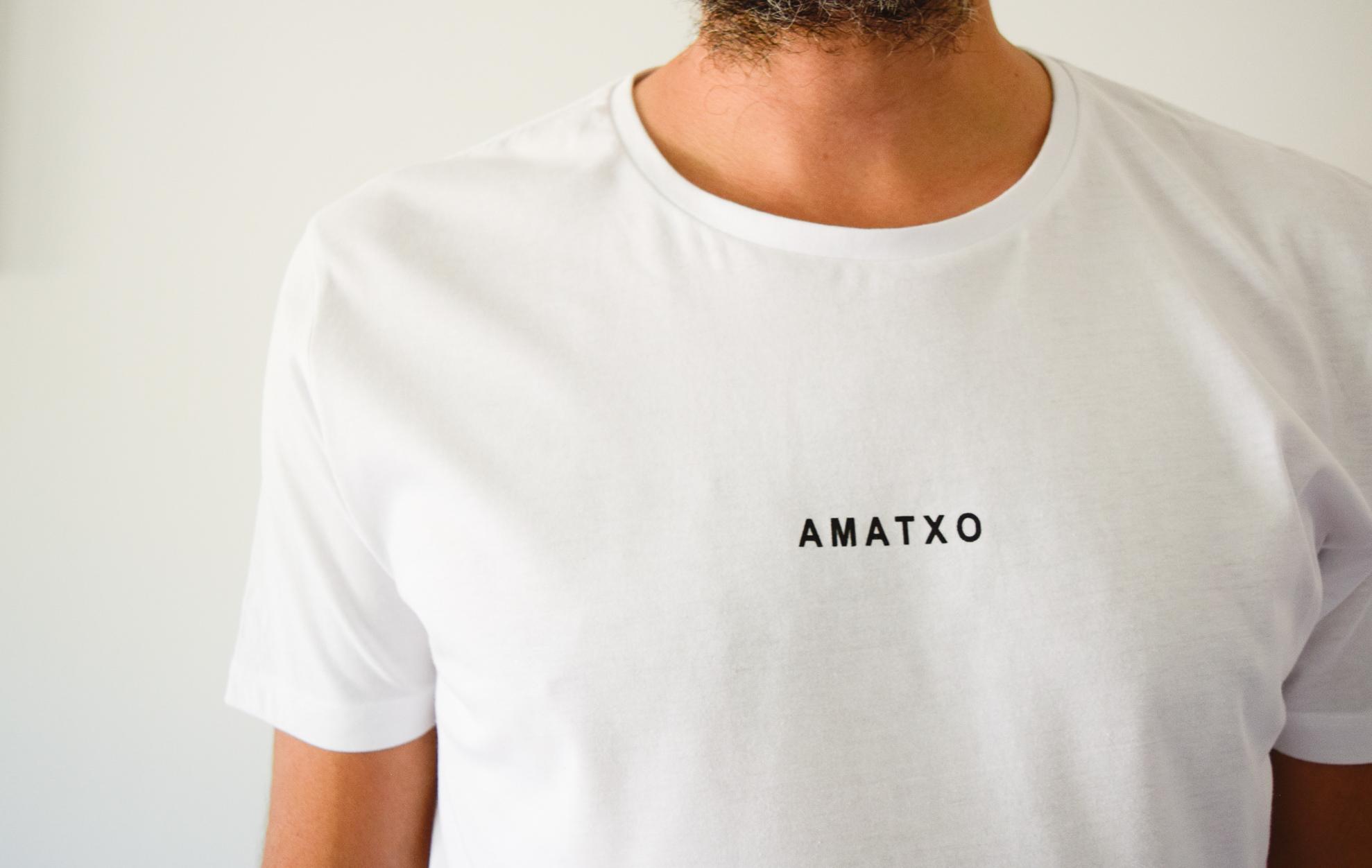 camiseta amatxo blanco chico